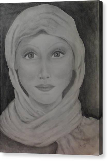 Her Canvas Print by Jennifer Hernandez