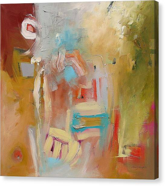 Her Version Of The Truth  Canvas Print by Linda Monfort