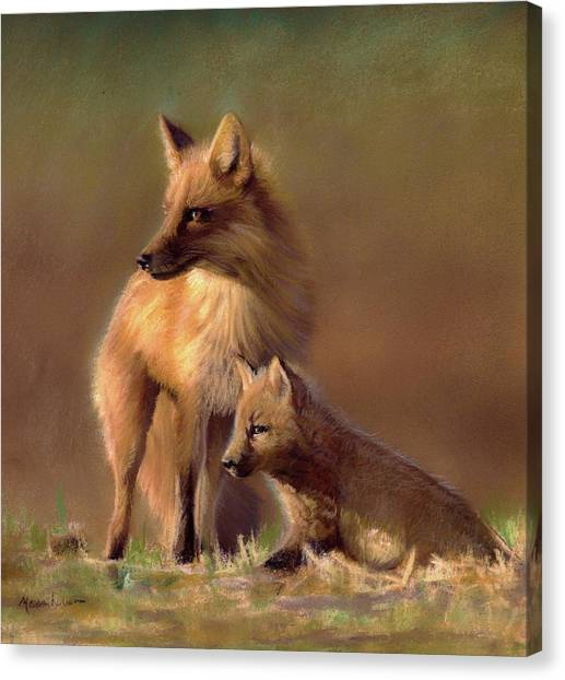 Her Watchful Eye Canvas Print