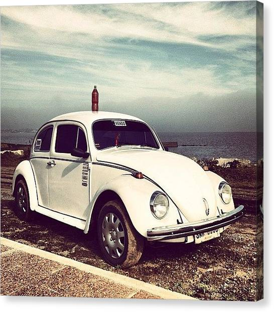 Beetles Canvas Print - Herbie For Sale by Diego Jolodenco