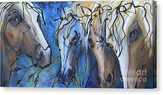 Herd Dynamics Canvas Print