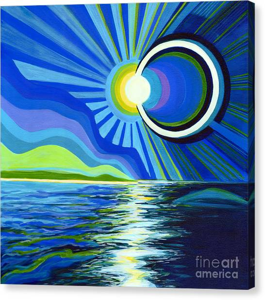 Here Come The Sun Canvas Print