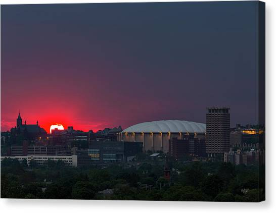 Syracuse University Canvas Print - Here Comes The Sun by Everet Regal