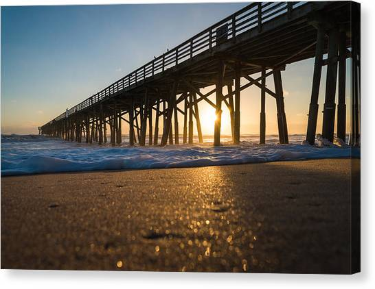 Flagler Beach Canvas Print - Here Comes The Sun by Kristopher Schoenleber