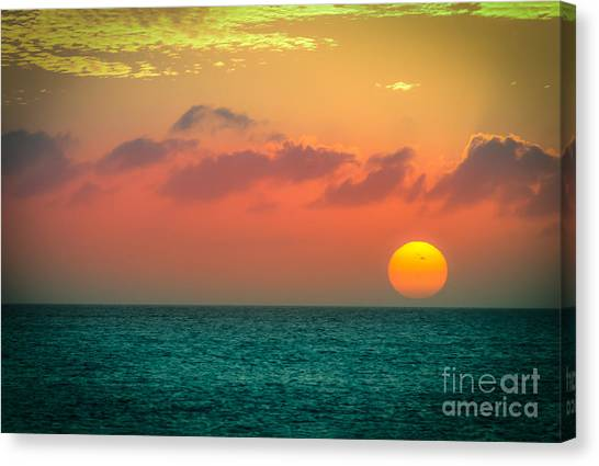 Here Goes The Sun 1 Canvas Print
