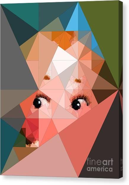 Here's Lookin At You Canvas Print by Deborah Selib-Haig DMacq