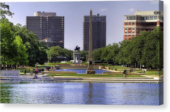 Hermann Park Canvas Print