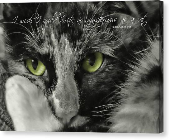 Hermione Quote Canvas Print by JAMART Photography