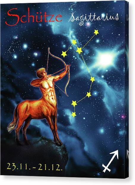Canvas Print - Hero Of The Stars by Johannes Margreiter
