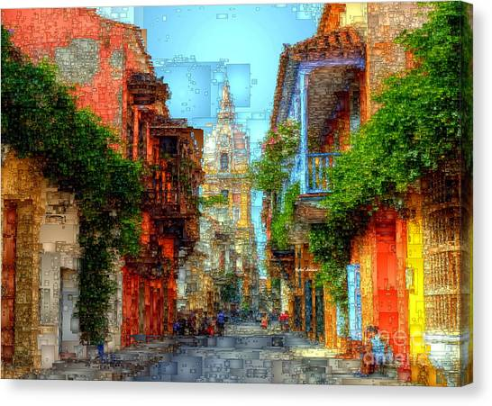 Heroic City, Cartagena De Indias Colombia Canvas Print