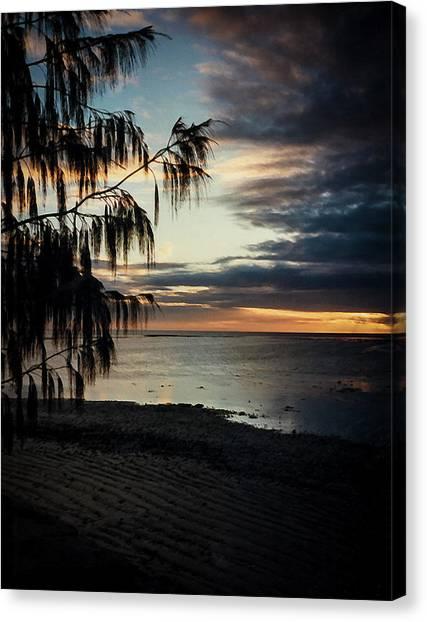 Heron Island Sunset  Canvas Print