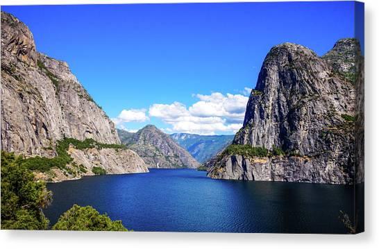 Hetch Hetchy Reservoir Yosemite Canvas Print