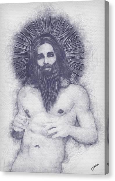 Atheism Canvas Print - Heterodox Mysticism by Joaquin Abella