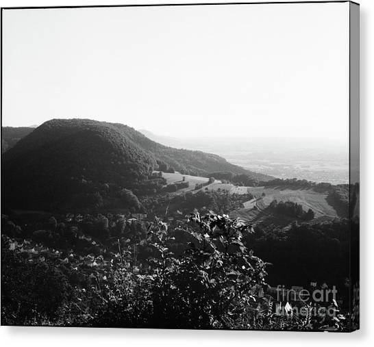 Heubach View Towards Scheuelberg Canvas Print