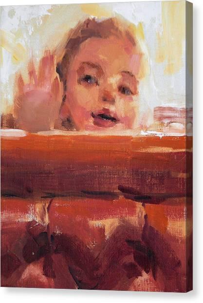 Hi There Canvas Print by Merle Keller