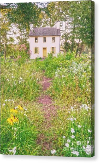 Hibbs House Canvas Print