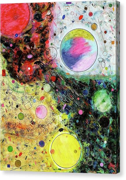 Hidden Aliens Canvas Print
