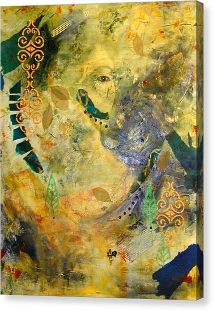 Hidden Beauty Canvas Print by Terry Honstead