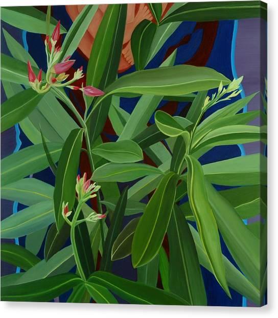 Hidden Behind Canvas Print by Sunhee Kim Jung
