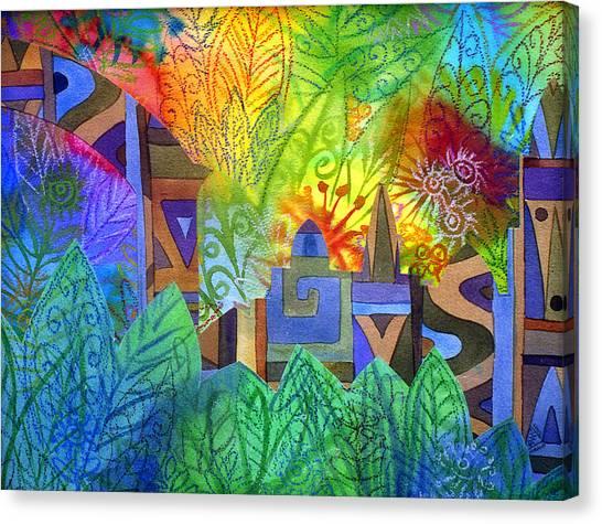 Hidden City Canvas Print by Jennifer Baird