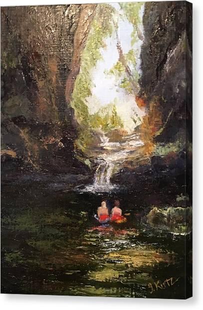 Hidden Cove Canvas Print