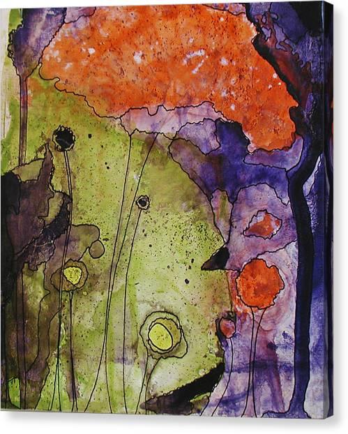 Hidden Forest Canvas Print by Christy Sobolewski