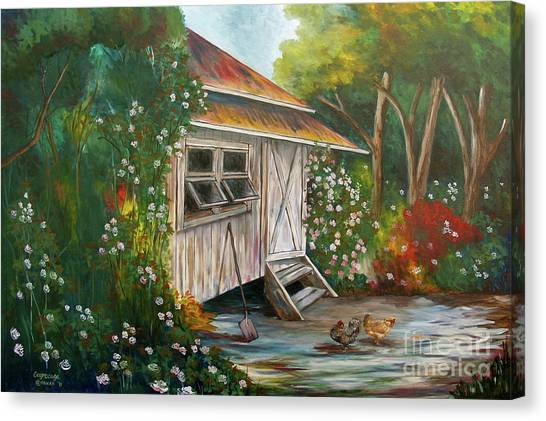 Hidden Garden Canvas Print