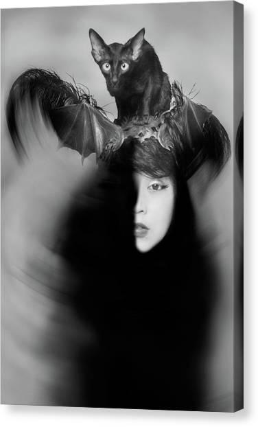 Hidden Half Canvas Print by Mayumi Yoshimaru