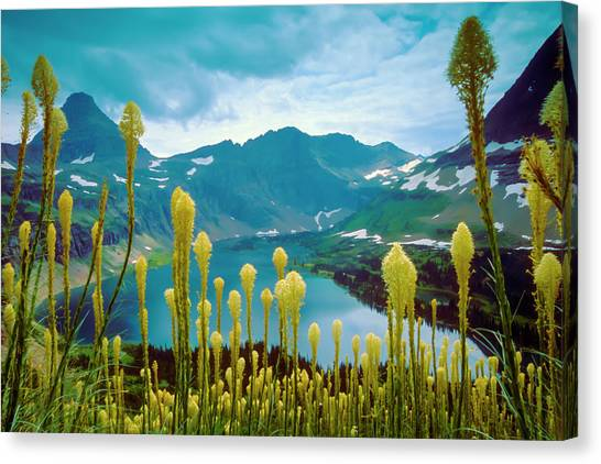 Hidden Lake, Gnp Canvas Print