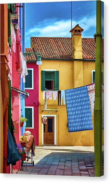 Hidden Magical Alley Canvas Print