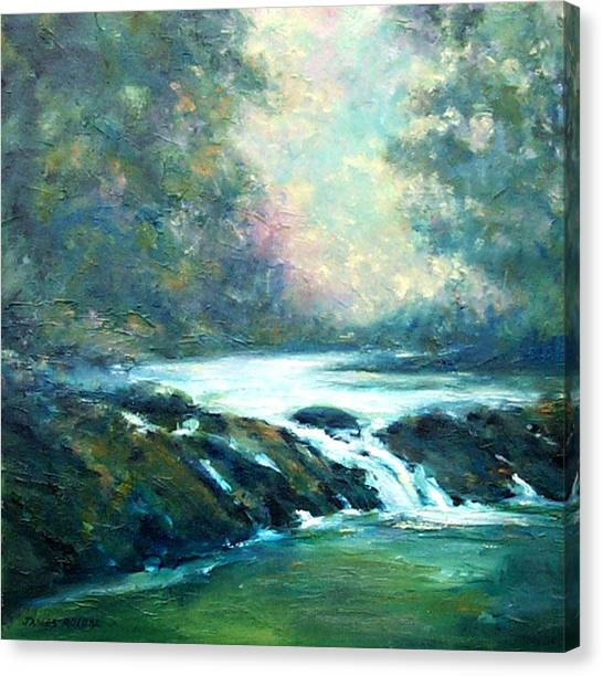 Hidden Oasis Canvas Print by James Roybal