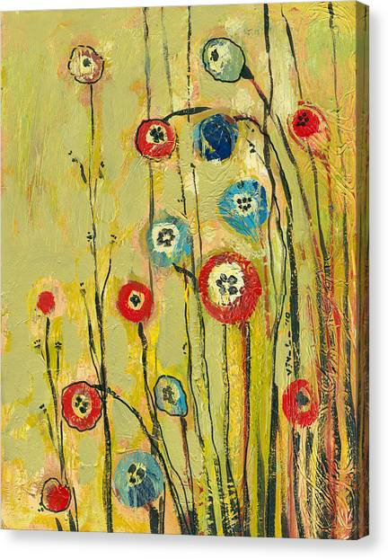 Poppies Canvas Print - Hidden Poppies by Jennifer Lommers