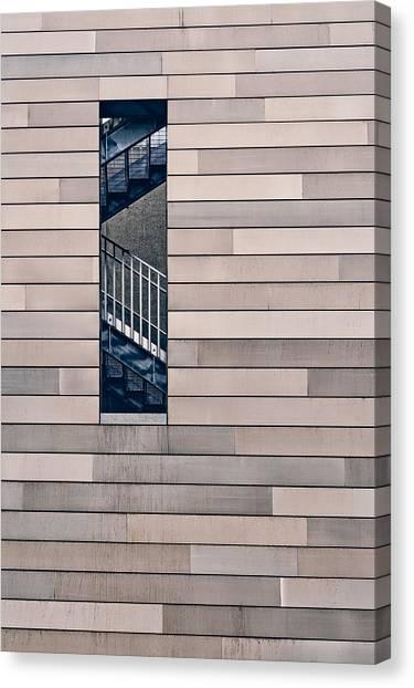 Museums Canvas Print - Hidden Stairway by Scott Norris