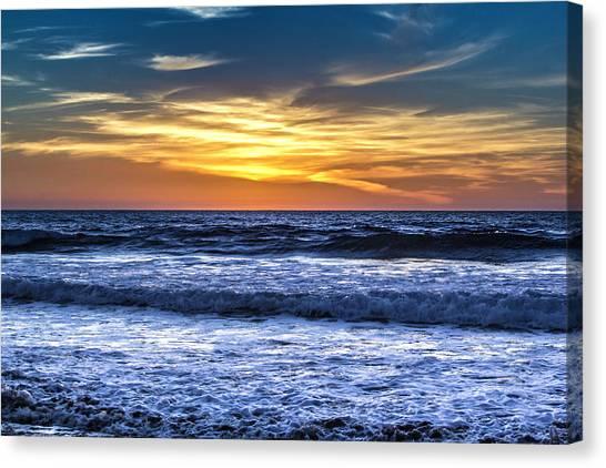 Hidden Sunset Canvas Print