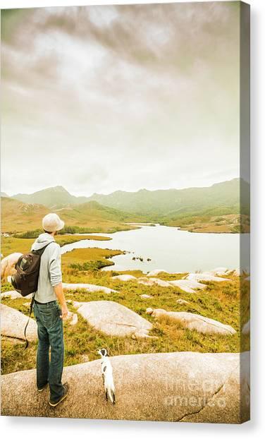 Backpacks Canvas Print - Hidden Tasmania Trails by Jorgo Photography - Wall Art Gallery