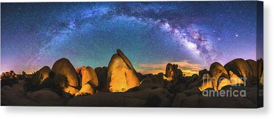 Hidden Valley Milky Way Canvas Print