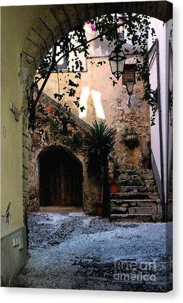 Hide Away Canvas Print by Dennis Curry
