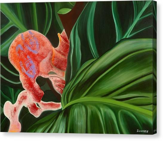 Hide'n Seek Canvas Print by Sunhee Kim Jung