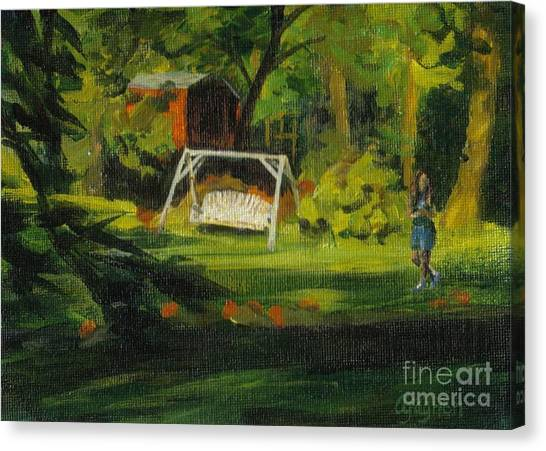Hiedi's Swing Canvas Print
