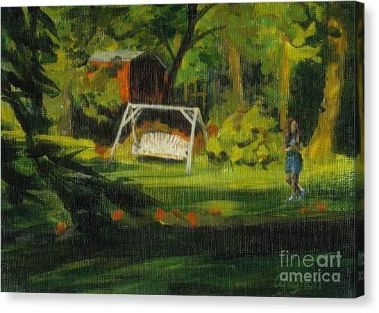Hiedi's Swing Canvas Print