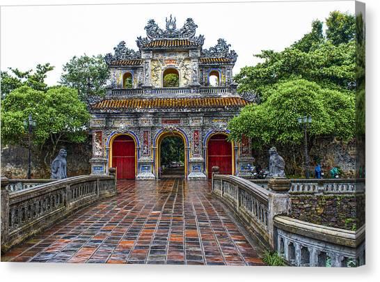 Hien Nhon Gate, Citadel, Hue,vietnam Canvas Print