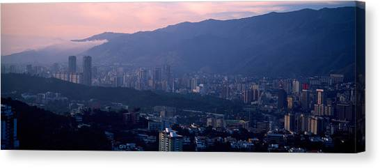 Venezuelan Canvas Print - High Angle View Of A City, Caracas by Panoramic Images