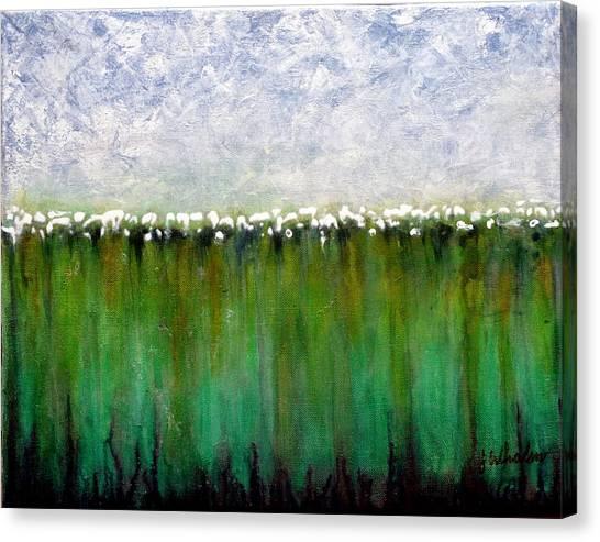 High Cotton Canvas Print