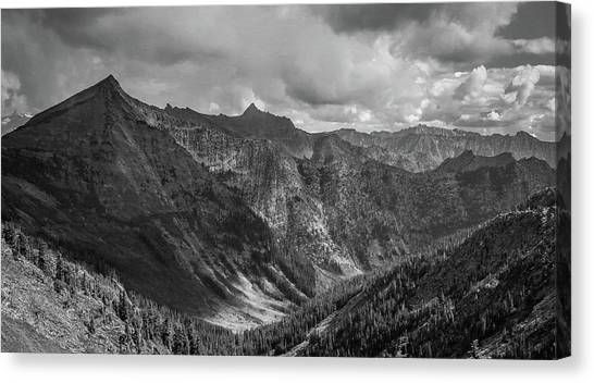 High Country Valley Canvas Print