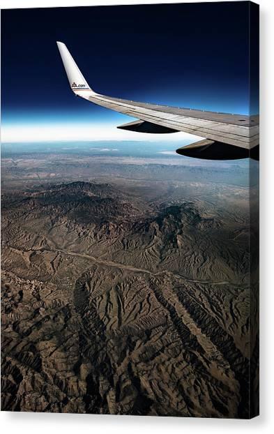 High Desert From High Above Canvas Print