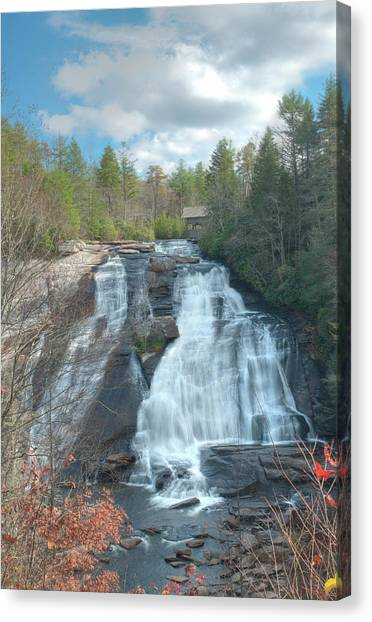 High Falls-dupont State Park Canvas Print