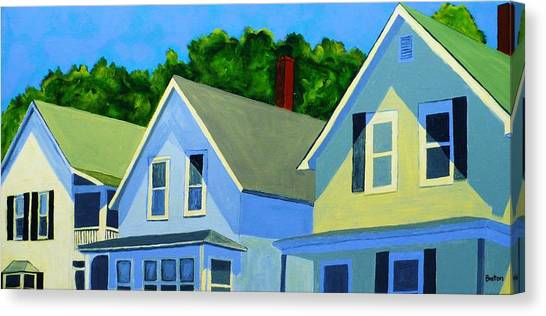 Maine Canvas Print - High Noon by Laurie Breton