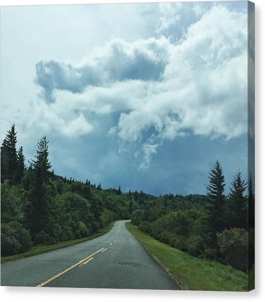 Appalachian Mountains Canvas Print - High On A Mountain by Matt Urich