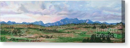 High Plains IIi Canvas Print by Lucinda  Hansen