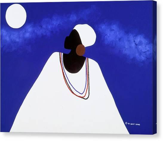 Canvas Print - High Priestess I by Synthia SAINT JAMES